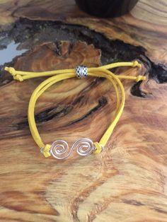 Custom Suede Bracelet by designbyafney on Etsy