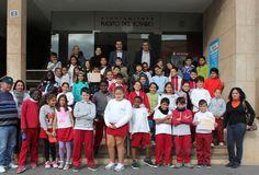 Alumnos de 4º de Primaria del CEIP Puerto del Rosario visitaron el Ayuntamiento de Puerto del Rosario