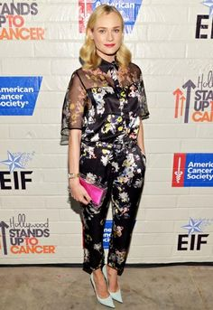 Diane Kruger is totally werking #SS14 freaky florals http://asos.to/1ehcoU6