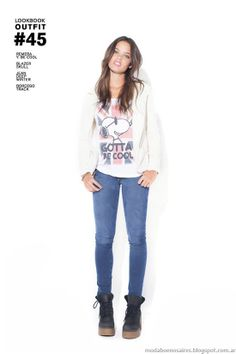 Colección 47 Street otoño invierno 2014. Denim, Pants, Clothes, Style, Fashion, Fall Winter 2014, Spring Summer Trends, Spring Fashion, Jeans And Sneakers