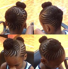 {Grow Lust Worthy Hair FASTER Naturally} ========================== Go To: www.HairTriggerr.com ========================== Cute Swirly Braided Buns for Little Girls Hairstyle
