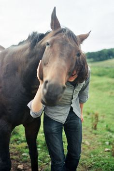 A horse is a girl's best friend.