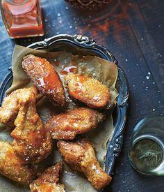 Smoked chicken wings recipe   Porteño recipe - Gourmet Traveller