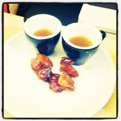 And goodbye #arabic #coffee with figs from our #lovelyguests.. Drive safe guys!:) #iconhotelprague at The ICON Hotel & Lounge