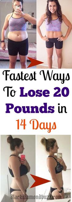 Weight Loss Tips : Here are the Fastest Ways to Lose 20 pounds in 14 days : All you need to do is simple exercise plus healthy diet = Weight Loss . Try it now.