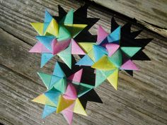 Pastel Combination German Stars by Erinbug on Etsy, $5.00