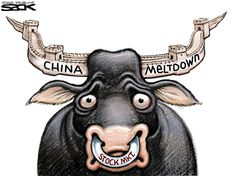 CHINA'S MELTDOWN | Aug/25/15 Cartoon by Sack