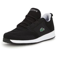 Lacoste L.Ight Trainer (1,065 MXN) ❤ liked on Polyvore featuring shoes, sneakers, lacoste trainers, lacoste shoes, lacoste footwear, lacoste and lacoste sneakers