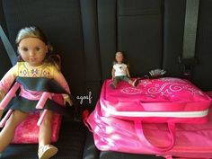 How To Travel With Your American Girl Doll ~ Two Night Hotel Vacation Stay ~ - YouTube