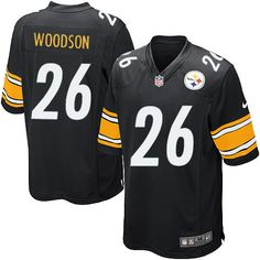 1be2b7163c8 Nike Limited Rod Woodson Black Youth Jersey - Pittsburgh Steelers  26 NFL  Home Nfl Steelers