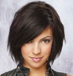 Bob Hairstyles Pictures | 2013 Short Haircut for Women - needs bangs while this is growing  out!