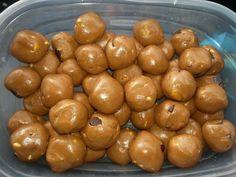 Cookie Dough Balls (aka energizing protein balls)
