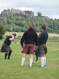 Kilts in the Wind...