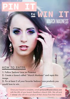 March Contest!!! Follow the graphic details and enter!
