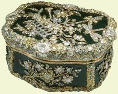 A Diamond Snuff Box, 1770