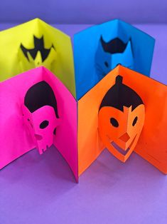 How to Make Halloween Pop-Up Cards with our free templates!