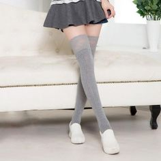 05b1e5f085308 Knee High Socks and Leg Warmers. Knee High Sock BootsThigh ...
