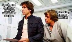 It's a scam ~ Star Wars