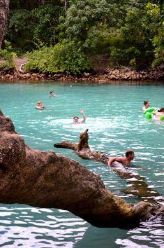 The Blue Lagoon - Port Vila, Vanuatu