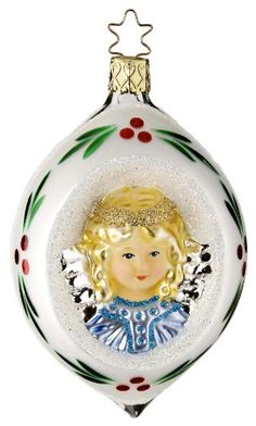 Peace Forever,Ornament by Inge-Glas of Germany