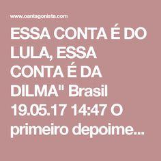 """ESSA CONTA É DO LULA, ESSA CONTA É DA DILMA""""  Brasil 19.05.17 14:47 O primeiro depoimento de Joesley Batista é arrasador. Ele diz que Guido Mantega cobrava propina dos financiamentos do BNDES para a JBS. A propina - exatamente como ocorreu no caso da Odebrecht - foi dividida em duas contas correntes: uma de Lula e outra de Dilma Rousseff. Os depósitos eram feitos no exterior. A conta de Lula chegou a 70 milhões de dólares; a de Dilma Rousseff chegou a 80 milhões de dólares. Quando o…"""