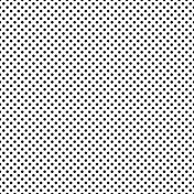 Polka Dots Overlay 01 #digital #scrapbook #printable #free #template