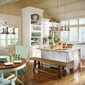 Kenston PureStyle™ Laminte White Kitchen Cabinets