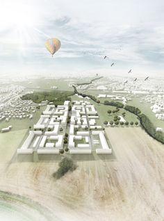 1. Preis Gütersloh: Vogelperspektive