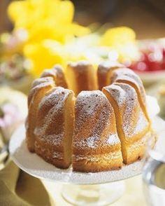 Gâteau de Savoie © Fotolia / Foodlovers
