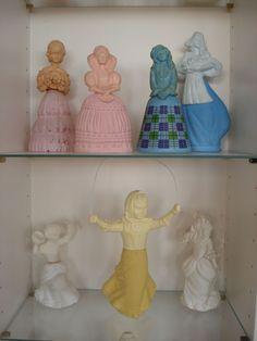 AVON perfume dolls