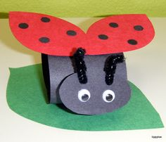 Tippytoe Crafts: Grouchy Ladybugs