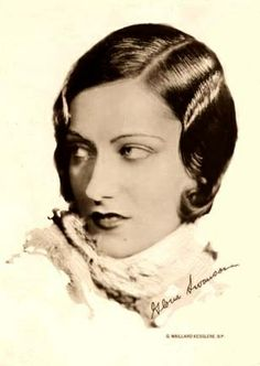 1920s vintage hair & make up inspiration from one of our favs Gloria Swanson (March 27, 1899 – April 4, 1983)