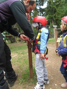 il nostro #istruttore Andrea controlla gli imbraghi