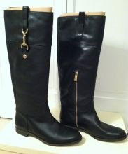 Coach blacker leather riding boots on SNOBSWAP https://snobswap.com/listings/view/12802