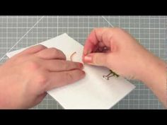 Bookbinding Tutorial: How to Saddle Stitch with Thread