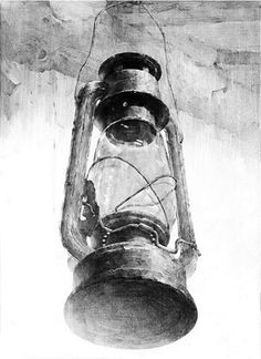 21 Oil Lamp Pencil Drawing Ideas - New Pencil Art Drawings, Drawing Sketches, Drawing Ideas, Academic Drawing, Canvas Art Projects, Still Life Drawing, Figure Sketching, Sketch Design, Crayon