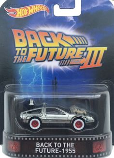 Autos Hot Wheels, Hot Wheels Cars, Bttf, Matchbox Cars, Movie Poster Art, Back To The Future, Nerd Geek, Cool Toys, Diecast