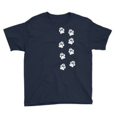 Simba The Dog - Kids T-Shirt Navy