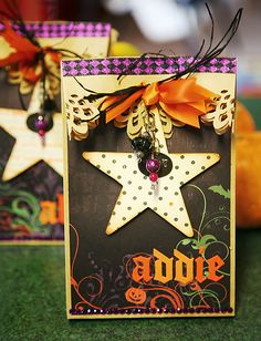 halloween treat bag | for the little kid treat bags i used treat bags
