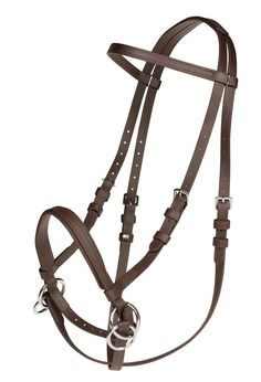 Dr. Cook Beta Headstall-Bitless Bridle Brown Horse #DrCookBitlessBridle