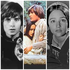 Leonard Whiting and Olivia Hussey in Romeo & Juliet