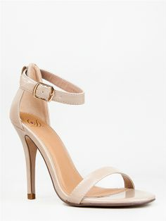 Delicious CHA CHA Ankle Strap High Heel-2