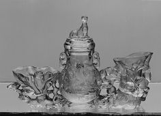 Bottle with Ccver - 18th century China - rock crystal