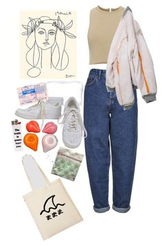 Designer Clothes, Shoes & Bags for Women Mom Jeans Outfit, Calvin Klein Collection, Topshop, Boutique, Shoe Bag, Nike, Polyvore, Outfits, Clothes