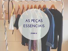 Guia de Estilo, etapa 4: O essencial do guarda-roupa + desafio 13 peças - 30 looks: http://www.semmoldura.com.br/2014/09/etapa-4-o-essencial-do-guarda-roupa.html