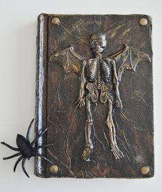 altered book halloween 2