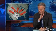 Jon Stewart dives into Texas takeover conspiracies and 'Lone Star lunatics' (VIDEO): Can't watch? Get Hola VPN for Chrome, or whatevs https://hola.org/ #auspol