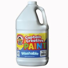 WHITE GALLON WASHABLE PAINT BY