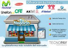 Vende tiempo aire_Tecnopay_ Tu negocio   Vende Recargas  01 800 112 7412  https://www.tecnopay.com.mx/