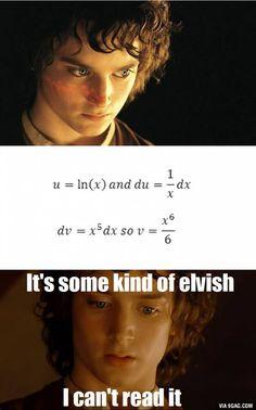 Me studying maths